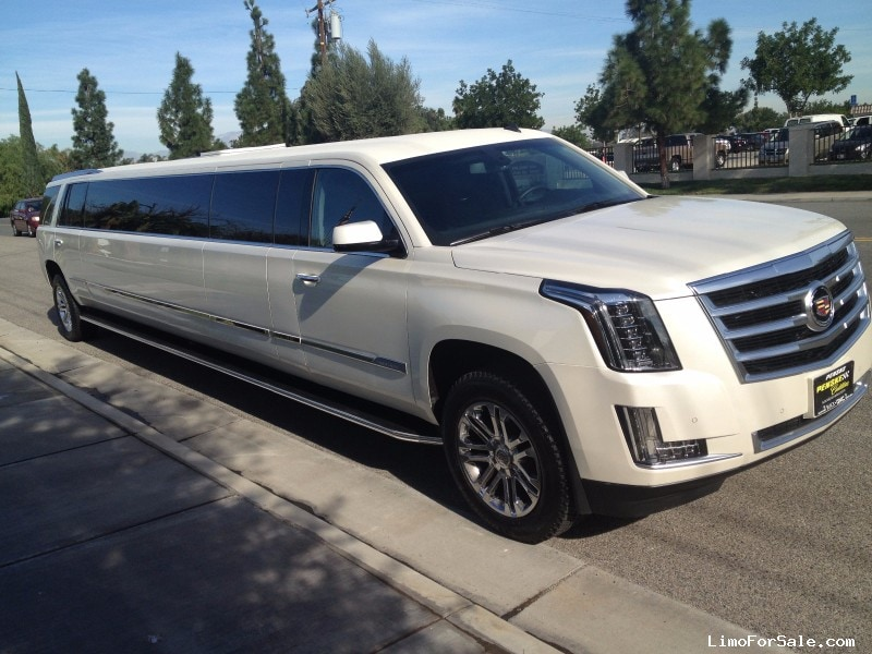 Used 2016 Cadillac Escalade Suv Stretch Limo Classic