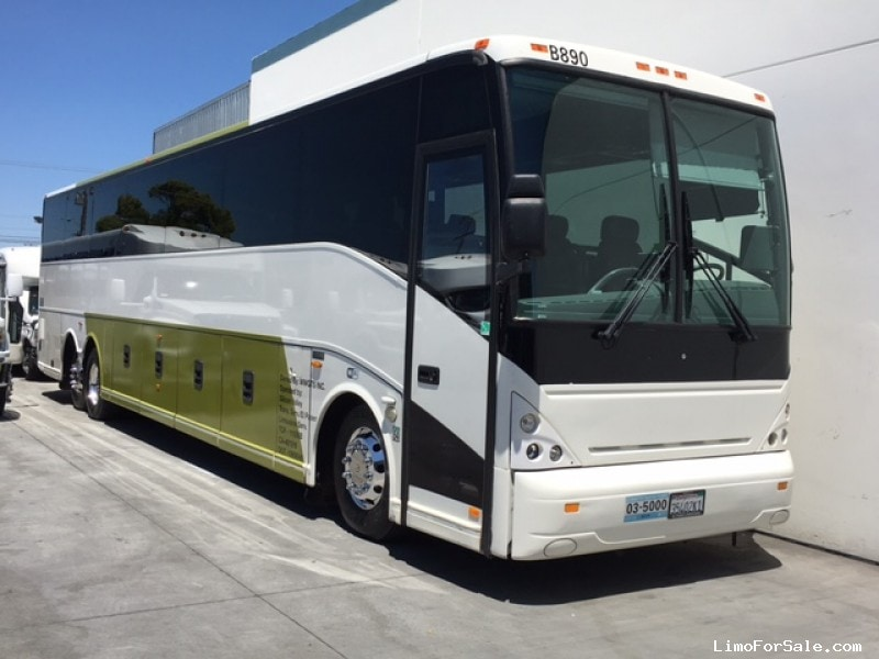 Used 2009 Van Hool M11 Motorcoach Shuttle Tour Abc