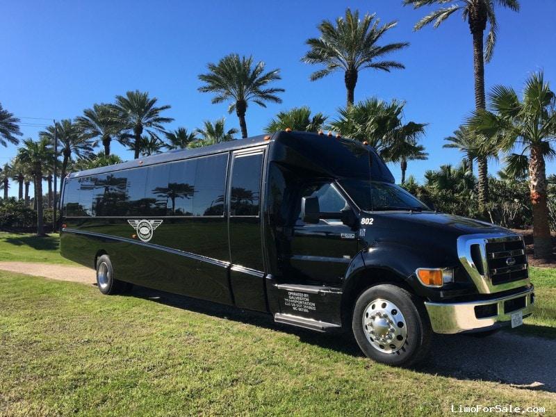 Used 2013 Ford F-650 Mini Bus Shuttle / Tour Grech Motors - Galveston, Texas - $115,000