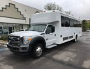 2012, Ford F-550, Mini Bus Shuttle / Tour, Glaval Bus
