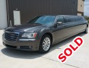 2013, Chrysler 300, Sedan Stretch Limo, Executive Coach Builders