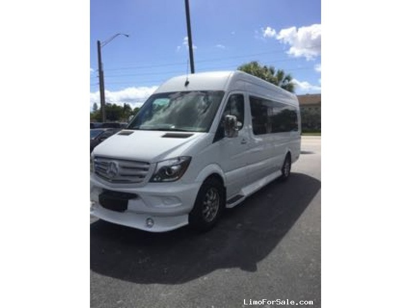 Used 2016 Mercedes-Benz Sprinter Van Limo Midwest Automotive Designs, Florida - $127,000
