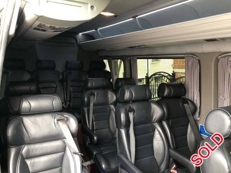 Used 2013 Mercedes-Benz Sprinter Mini Bus Shuttle / Tour HQ Custom Design - NY, New York    - $49,995