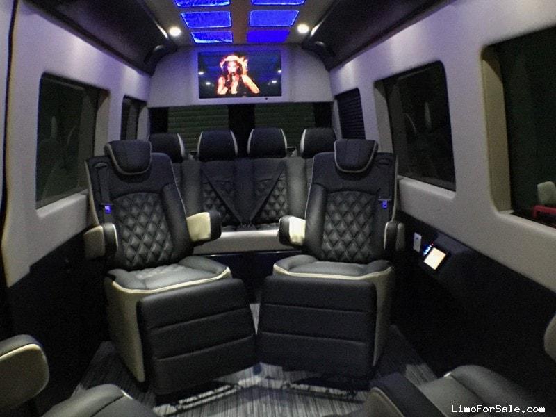 Mercedes Bus Van >> Used 2016 Mercedes Benz Sprinter Van Limo Signature Limousine Manufacturing Las Vegas Nevada 89 950