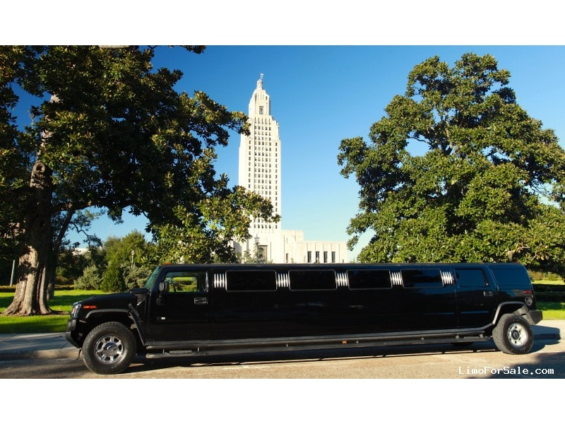 Used 2004 Hummer H2 SUV Stretch Limo  - Baton rouge, Louisiana - $20,000