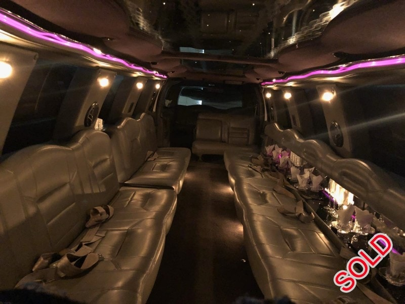 Used 2002 Ford SUV Stretch Limo Ultra - Vacaville, California - $7,500