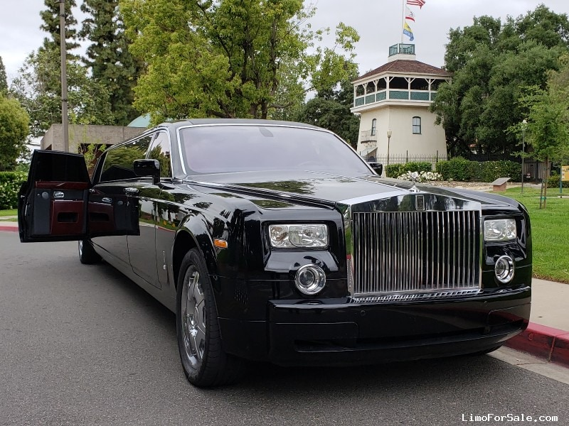 Used 2007 Rolls-Royce Sedan Stretch Limo Pinnacle Limousine Manufacturing - City of Industry, California - $395,000