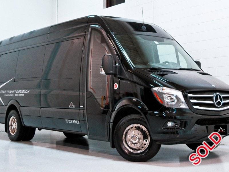 Used 2015 Mercedes-Benz Van Shuttle / Tour McSweeney Designs - Eagan, Minnesota - $45,900