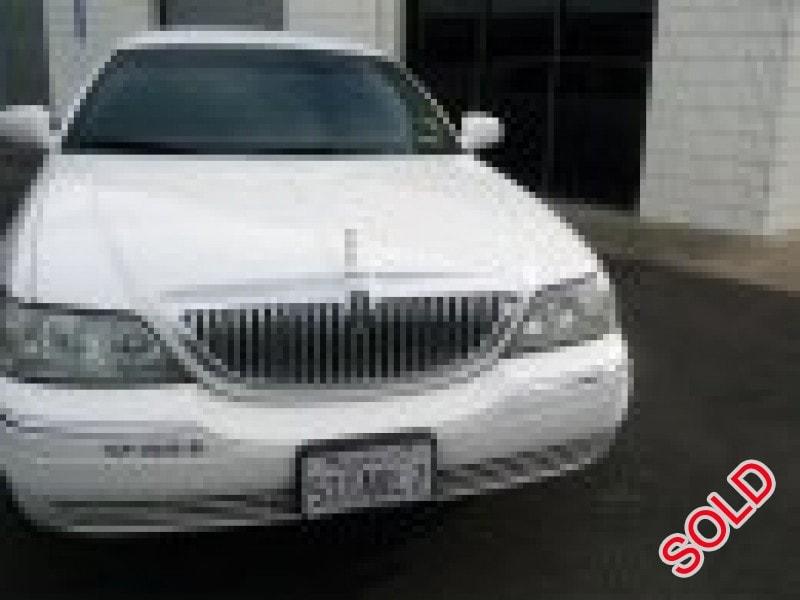 Used 2003 Lincoln Sedan Stretch Limo Krystal - Vacaville, California - $2,500