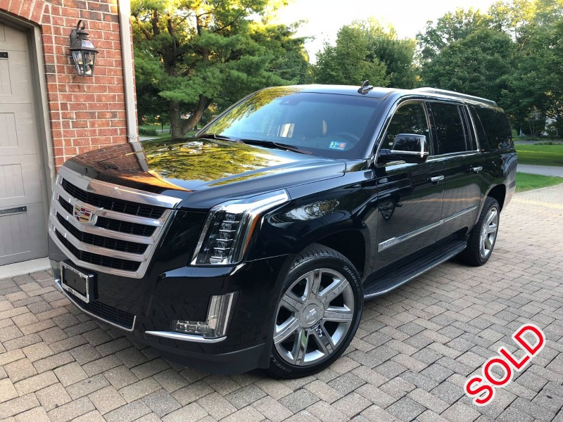 Used 2018 Cadillac Escalade ESV SUV Limo  - FLOSSMOOR, Illinois - $49,900