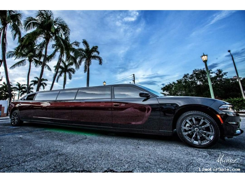 Used 2015 Dodge Charger Sedan Stretch Limo Pinnacle Limousine Manufacturing - West Palm Beach, Florida - $45,000