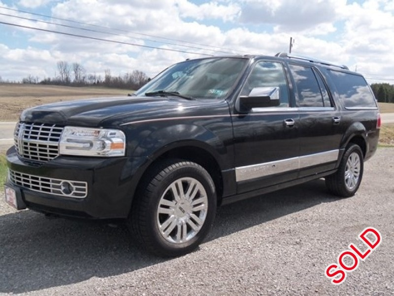 used 2007 lincoln navigator l suv limo bellefontaine ohio 18 800 limo for sale. Black Bedroom Furniture Sets. Home Design Ideas