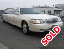 2007, Lincoln Town Car, Sedan Stretch Limo, LA Custom Coach