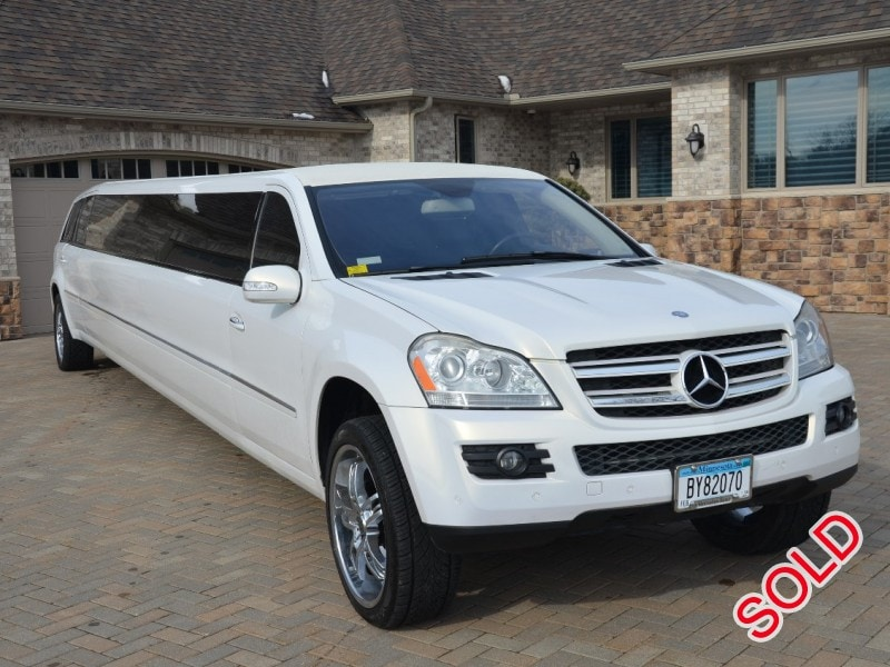 Used 2007 mercedes benz gl class suv stretch limo ec for Mercedes benz suv used for sale