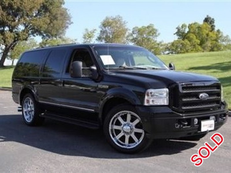 used 2005 ford excursion suv limo louisville kentucky 18 900 limo for sale. Black Bedroom Furniture Sets. Home Design Ideas