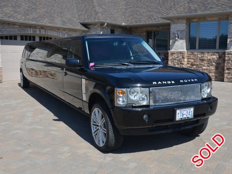 used 2005 land rover range rover suv stretch limo ec. Black Bedroom Furniture Sets. Home Design Ideas