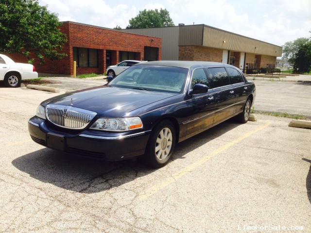 Used 2003 Lincoln Town Car Sedan Stretch Limo Accubuilt Winona