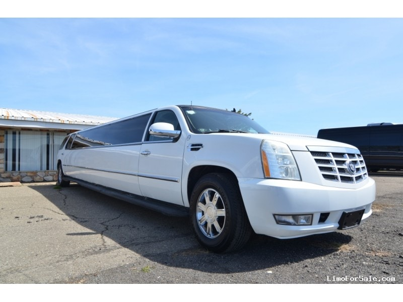 used 2007 cadillac escalade suv stretch limo north east pennsylvania 38 900 limo for sale. Black Bedroom Furniture Sets. Home Design Ideas