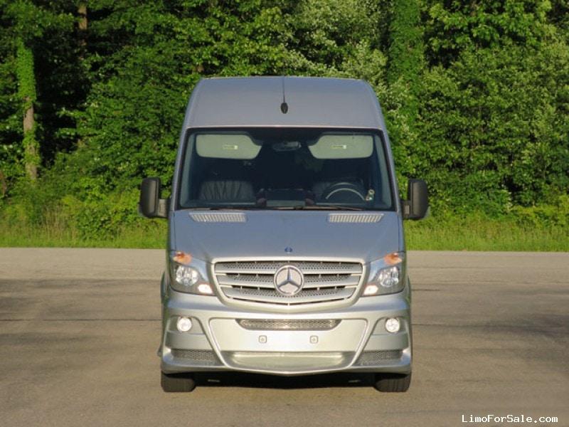 Used 2014 mercedes benz sprinter van shuttle tour st for Mercedes benz st louis missouri