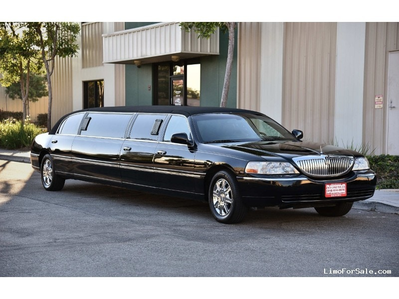 used 2008 lincoln town car sedan stretch limo krystal fontana california 23 900 limo for. Black Bedroom Furniture Sets. Home Design Ideas