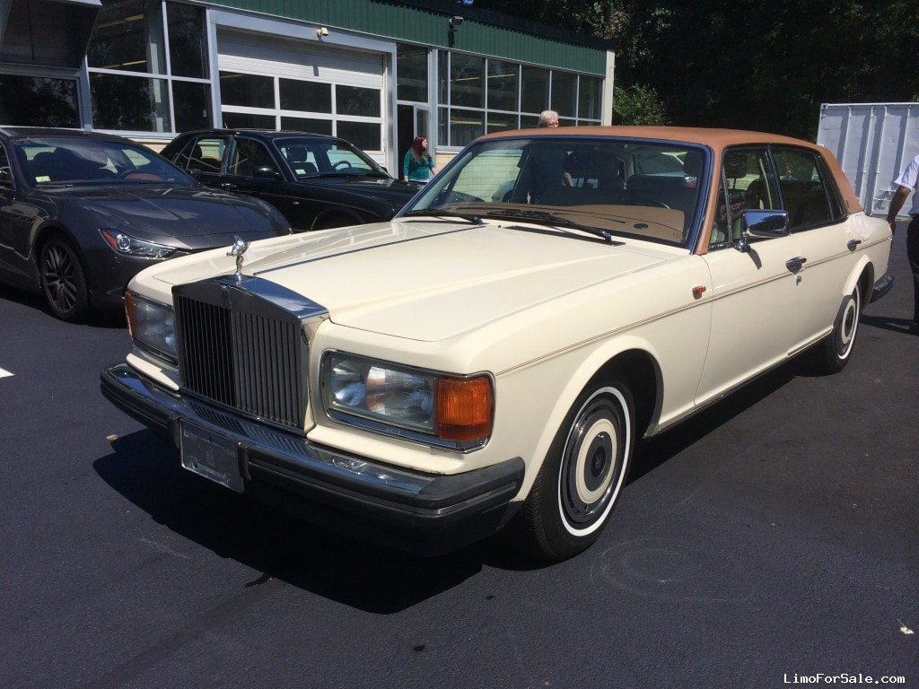 Used 1991 Rolls Royce Silver Spur Antique Classic Limo Accubuilt