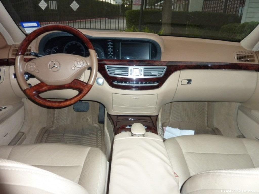 Used 2010 Mercedes Benz S550 Sedan Limo   Houston, Texas   $29,500