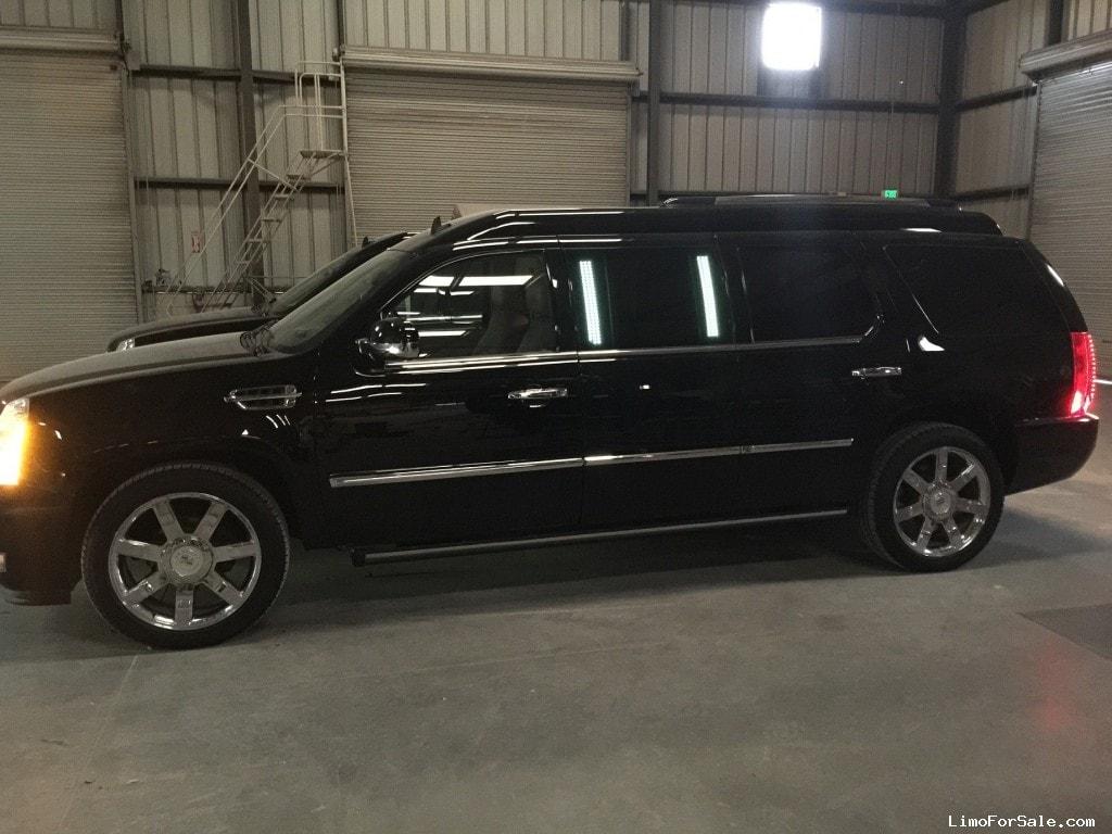 Used 2011 Cadillac Escalade SUV Limo LA Custom Coach - Fontana, California - $69,995 - Limo For Sale
