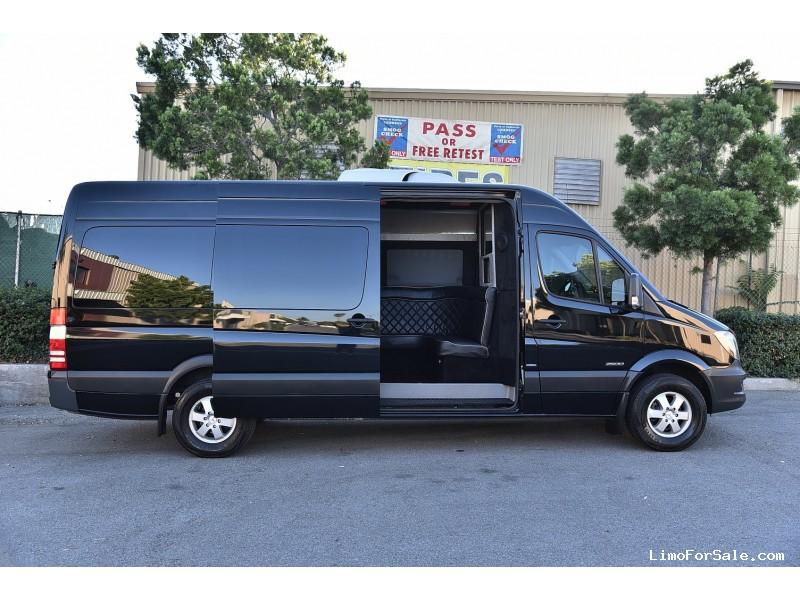 Used Sprinter Van For Sale >> Used 2014 Mercedes-Benz Sprinter Van Limo - Fontana, California - $75,900 - Limo For Sale