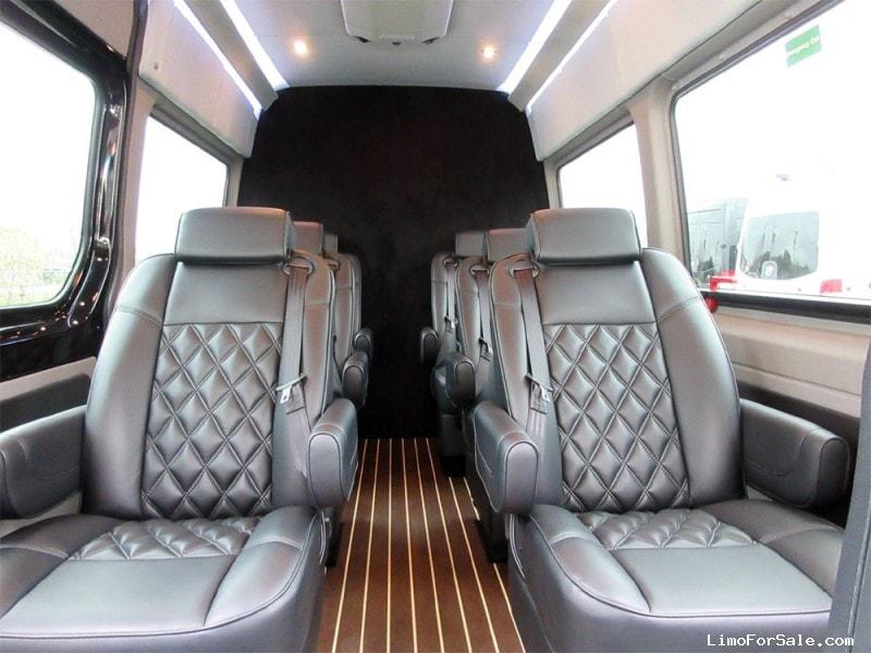 Used 2015 mercedes benz sprinter van limo hq custom design for Mercedes benz sprinter luxury van for sale