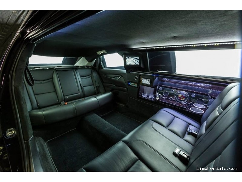 New 2015 Cadillac Xts Limousine Sedan Stretch Limo