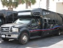2007, Ford F-550, Mini Bus Shuttle / Tour, Krystal
