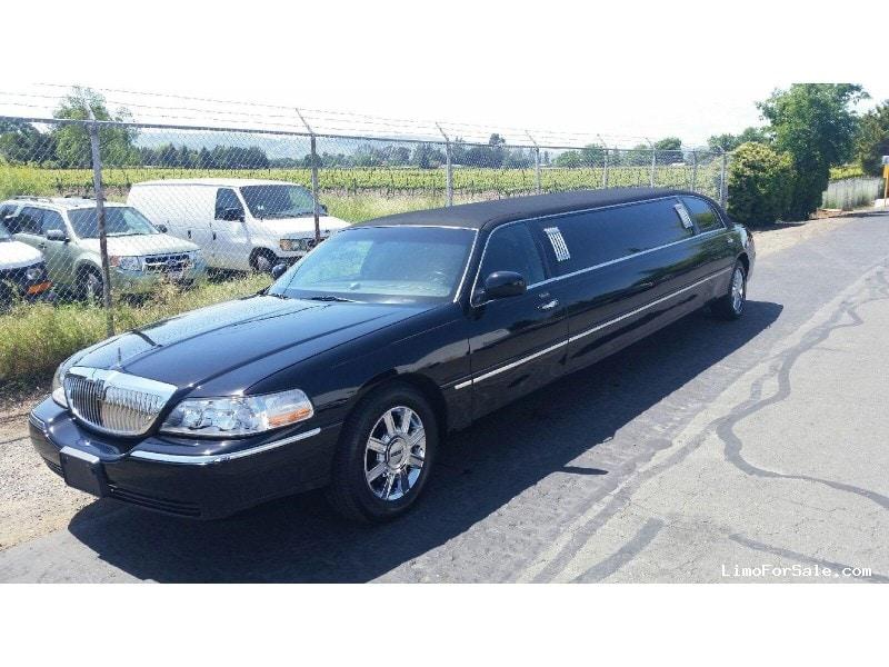 Used 2007 Lincoln Town Car Sedan Stretch Limo Krystal - DALY CITY, California - $5,000