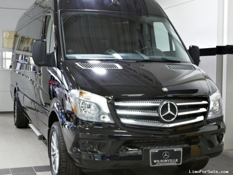 new 2016 mercedes benz sprinter van limo wilsonville