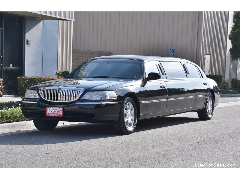 used 2007 lincoln town car sedan stretch limo federal fontana california 12 900 limo for. Black Bedroom Furniture Sets. Home Design Ideas