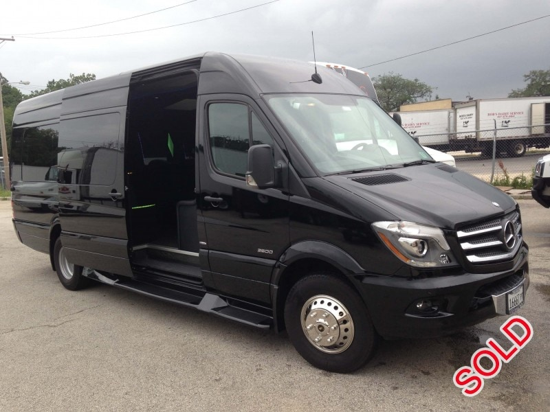 Used 2014 Mercedes-Benz Sprinter Van Limo Executive Coach Builders - Chicago - $60,800