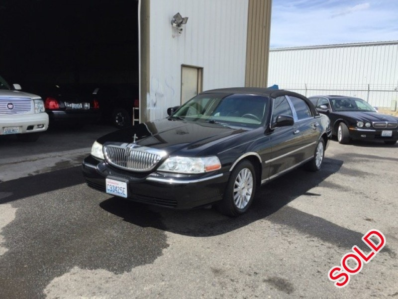 Used 2005 Lincoln Town Car Sedan Limo  - spokane - $5,950