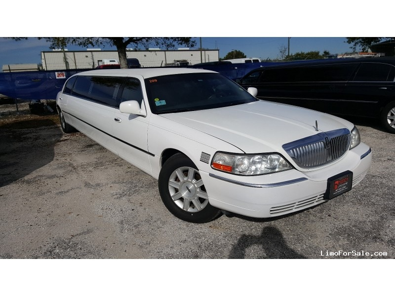 Used 2008 Lincoln Town Car Sedan Stretch Limo Executive Coach Builders - orlando, Florida - $9,500
