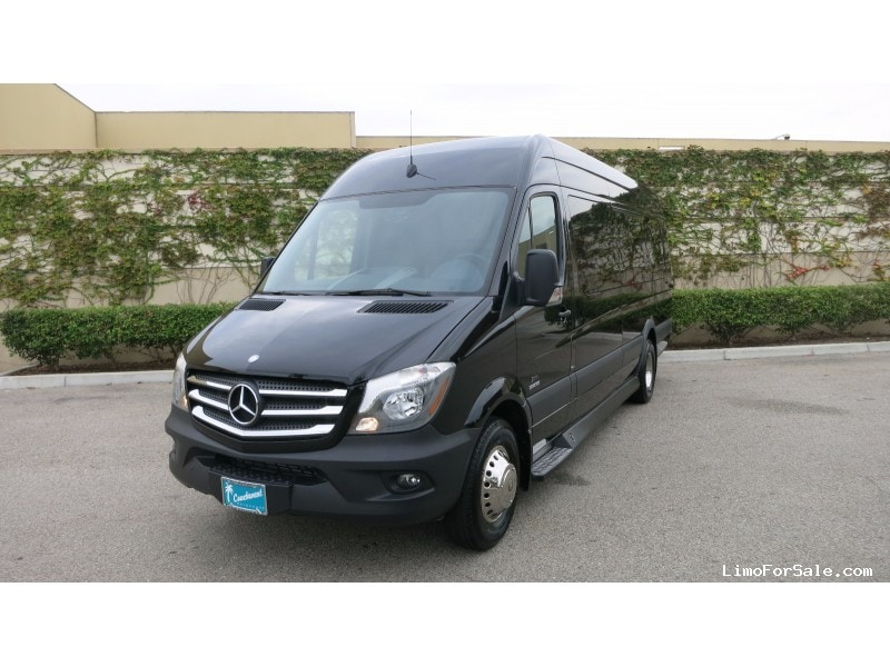 new 2014 mercedes benz sprinter van limo executive coach