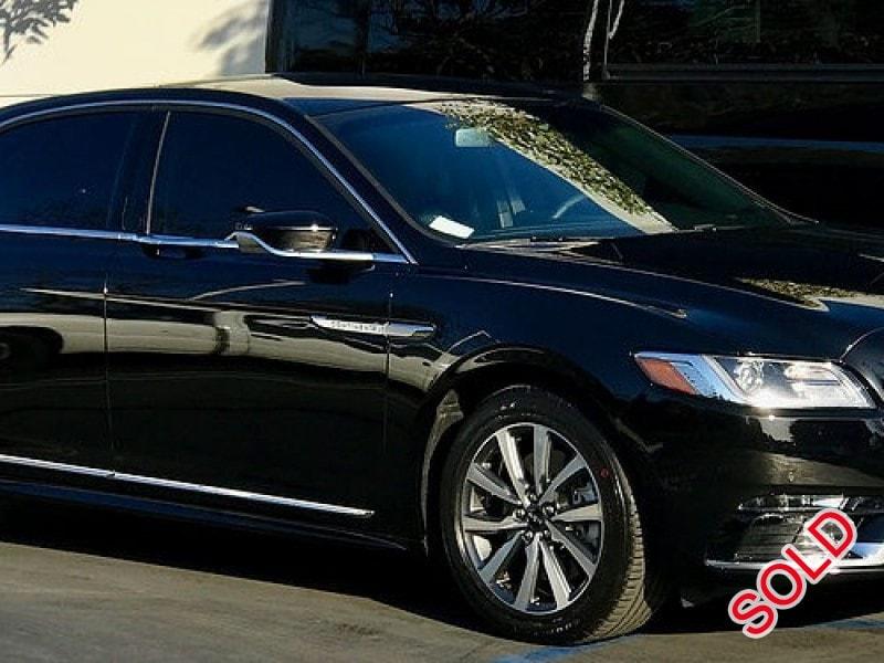 Used 2017 Lincoln Continental Sedan Limo  - RANCHO SANTA MARGARITA, California - $41,000