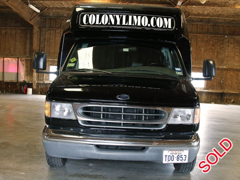 Used 1999 Ford E-450 Mini Bus Limo Krystal - Stafford, Texas - $18,500
