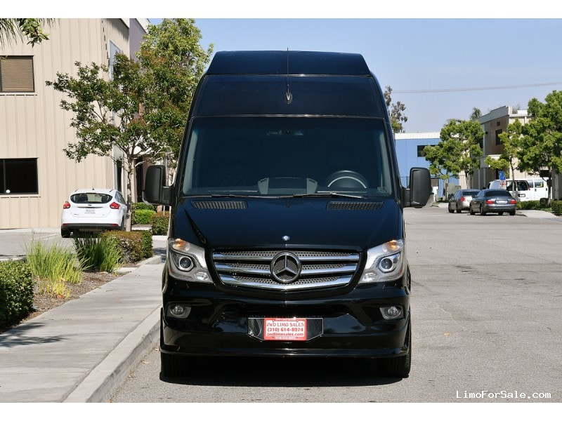 Used 2014 mercedes benz sprinter van shuttle tour grech for Mercedes benz fontana ca