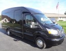 2016, Ford Transit, Mini Bus Shuttle / Tour, Turtle Top