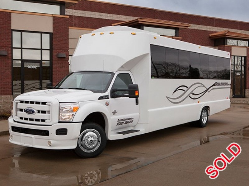 Used 2011 Ford F-550 Mini Bus Limo Tiffany Coachworks - Shelby Township, Michigan - $69,995