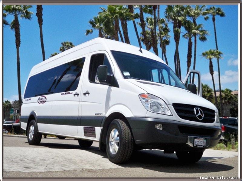 Used 2008 mercedes benz sprinter mini bus limo san diego for Mercedes benz sprinter san diego