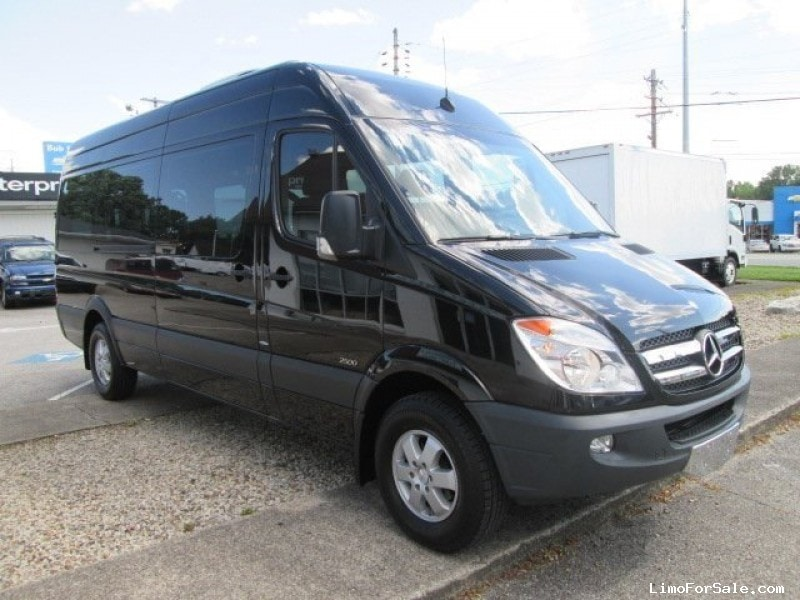 Used 2013 mercedes benz sprinter van shuttle tour for Used mercedes benz for sale in jacksonville florida