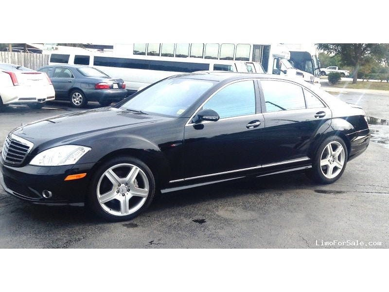 Used 2008 Mercedes Benz S550 Sedan Limo   Seminole, Florida   $18,900