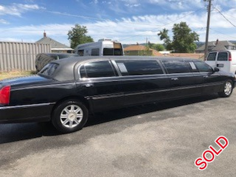 Used 2007 Lincoln Town Car L Sedan Stretch Limo Executive Coach