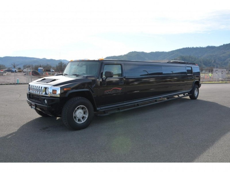 Used 2004 Hummer H2 SUV Stretch Limo Krystal - Ukiah, California - $24,900