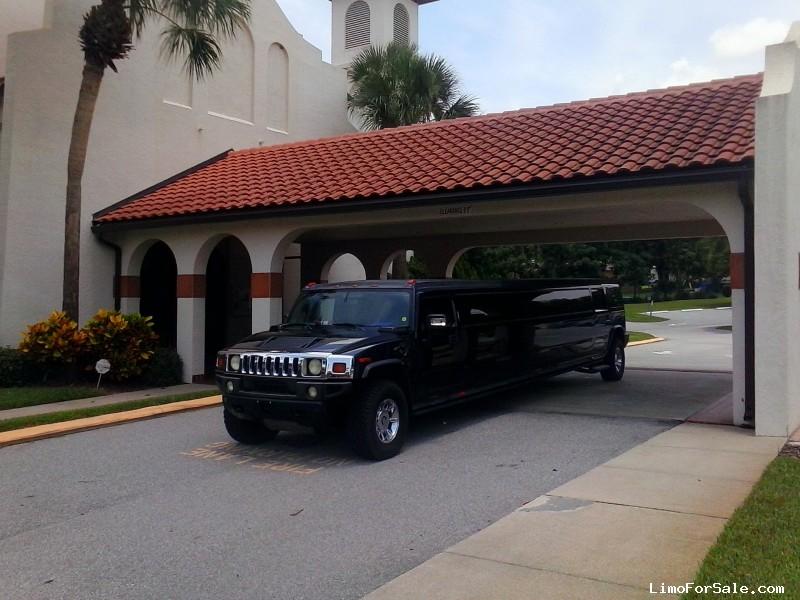 Used 2006 Hummer H2 SUV Stretch Limo Coastal Coachworks, Florida