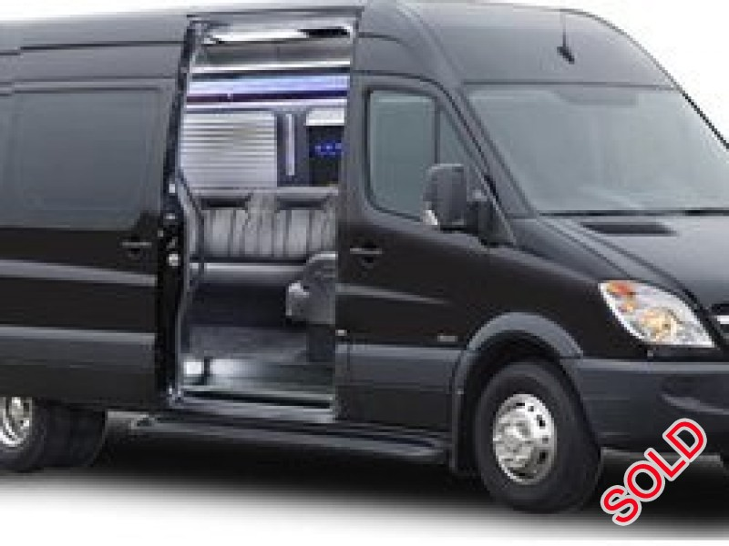 Used 2017 Mercedes-Benz Sprinter Van Limo Royale - Malden, Massachusetts - $74,900